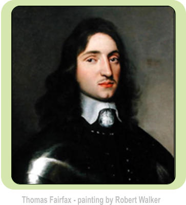 Thomas Fairfax - painting by Robert Walker